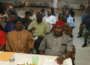 Members of Orlu Regional Atlanta, gathered for final meeting of 2017 deliberating on delivering best EOY event.